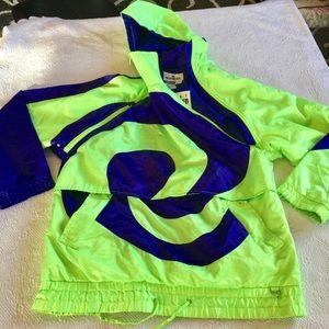 Obermeyer Vintage Neon  Jacket
